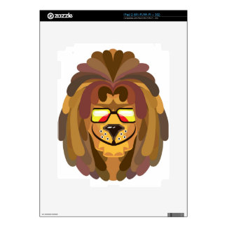 RastaLion vector Decal For The iPad 2