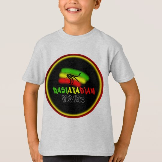 Rastarfarian Rights Logo T-Shirt