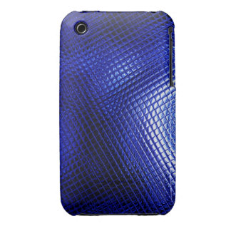 Raster in Blue iPhone 3 Cases
