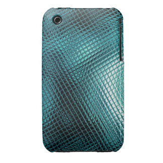 Raster in turquoise Case-Mate iPhone 3 case