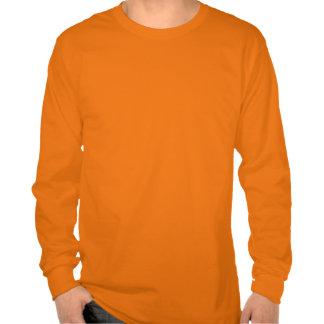 Rastro apalache (elevación) - naranja del respland camisetas