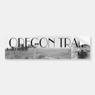 Rastro de ABH Oregon Pegatina Para Auto