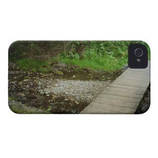 Rastro de dos lagos iPhone 4 funda