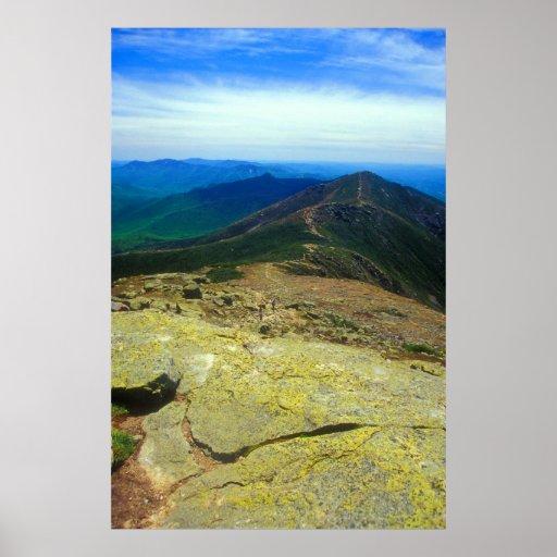 Rastro de Franconia Ridge Póster