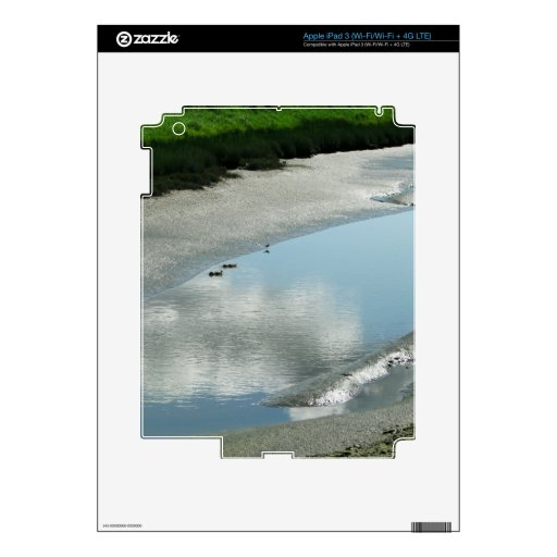 Rastro de la bahía de Padilla iPad 3 Pegatina Skin