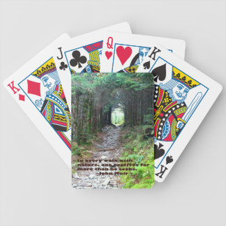 Rastro de la cueva del alumbre: Cada paseo w/natur Baraja Cartas De Poker