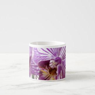 Rastro de la orquídea taza espresso