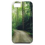 Rastro de montaña ahumado iPhone 5 Case-Mate carcasas