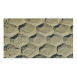 rastro de neumático en la arena plantillas de tarjetas personales