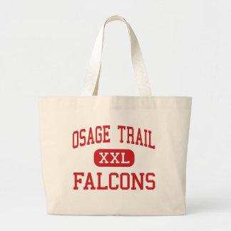 Rastro de Osage - Falcons - centro - independencia Bolsas Lienzo