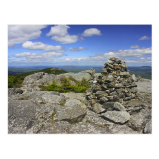 Rastro de Ridge de la cumbre de Monadnock del Postales