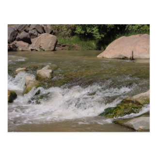 Rastro de Zion Riverwalk Tarjetas Postales