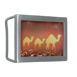 Rastro del camello hebillas cinturón