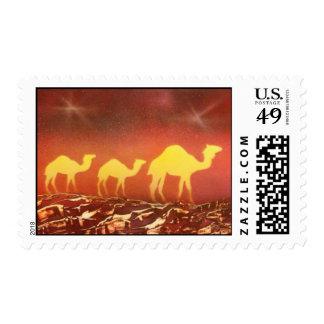 Rastro del camello sellos