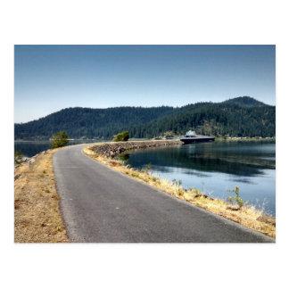 Rastro del d Alenes - Idaho de Coeur Tarjeta Postal
