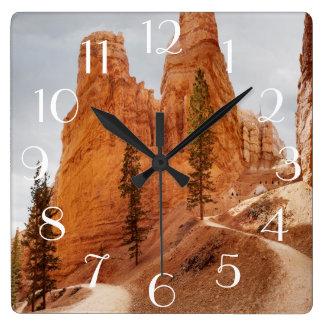 Rastro del lazo de Navajo, barranco de Bryce Reloj