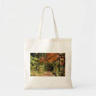 Rastro del otoño bolsa tela barata