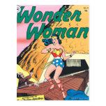 Rastro invisible de la Mujer Maravilla Postal