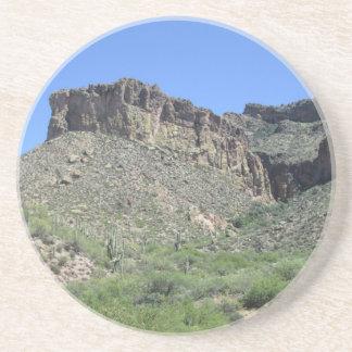 Rastro rocoso de Apache Posavasos Personalizados
