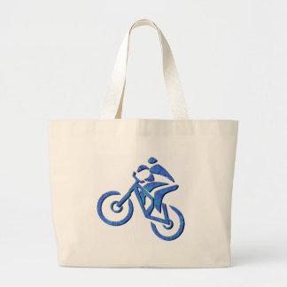 Rastros de Carolina de la bici Bolsa De Mano