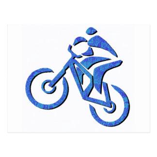 Rastros de Carolina de la bici Tarjetas Postales