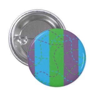 Rastros de desaparición B/P/G Pin Redondo De 1 Pulgada