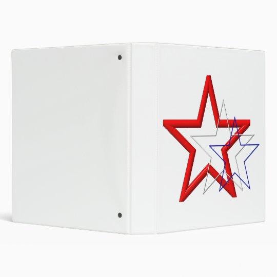 """Rastros de la estrella roja, blanca y azul carpeta 1"""""""