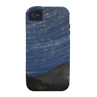 Rastros de la estrella sobre la capilla del soport vibe iPhone 4 carcasa