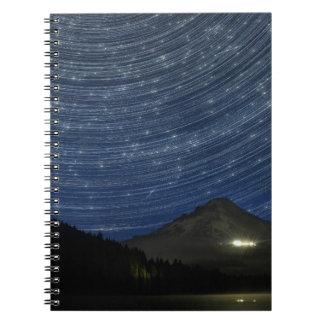 Rastros de la estrella sobre la capilla del soport cuadernos