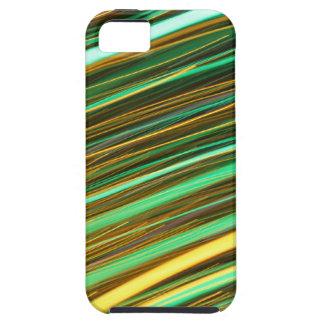 Rastros de la luz ámbar verde y iPhone 5 fundas