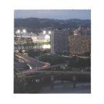 Rastros de la luz de Pittsburgh Blocs