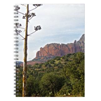 Rastros de montaña de Sedona Libro De Apuntes