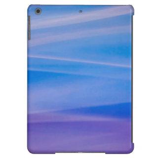 Rastros ligeros del color del extracto de la funda para iPad air