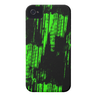 rastros verdes de la pintura Case-Mate iPhone 4 cárcasas
