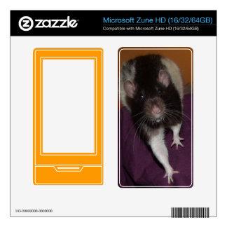 rat 1 Microsoft Zune HD Decal For Zune HD