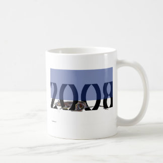 Rat 2008 Blue+White Coffee Mug