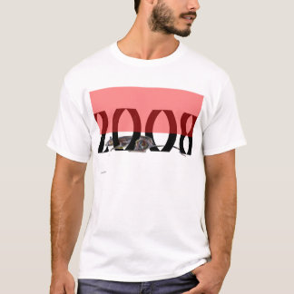 Rat 2008 red and white T-Shirt