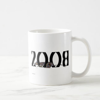 Rat 2008 White Coffee Mug
