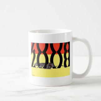 Rat 2008 Yellow+Red Coffee Mug