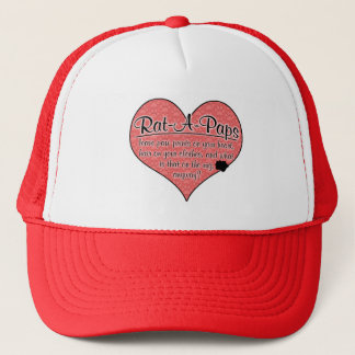 Rat-A-Pap Paw Prints Dog Humor Trucker Hat