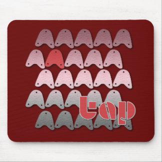 Rat-a-tat Taps Mouse Pad