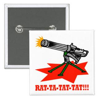 Rat A Tat Tat Pins