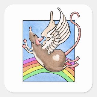 Rat Angel Sticker