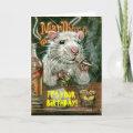 Rat bad habits card