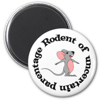 Rat Bastard 2 Inch Round Magnet