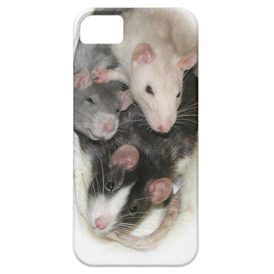 Rat Besties iPhone cover
