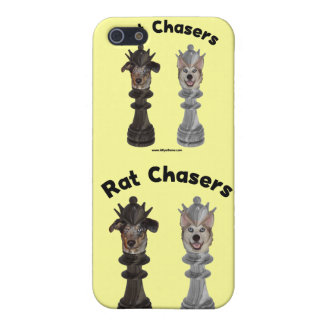 Rat Chasers Chess Dogs Case For iPhone 5