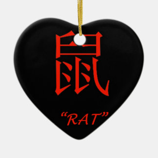 """""""Rat"""" Chinese astrology sign Ornaments"""