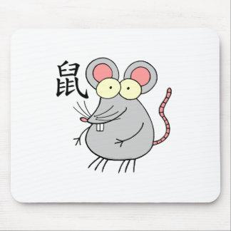 Rat Chinese Zodiac Mouse Pad