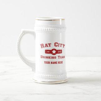 Rat City Drinking Team Mugs